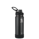 Takeya Actives 18 oz Insulated Water Bottle -teräspullo (Onyx)