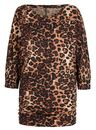 Asquith Be Grace Batwing Top (Leopard)