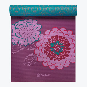 Gaiam Kiku Reversible Yoga Mat 6mm