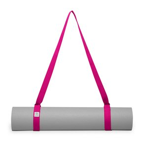 Gaiam Easy Cinch Yoga Mat Sling (Fuchsia Red)