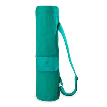 Gaiam 2 Color Yoga Mat Bag (Turquoise Sea)
