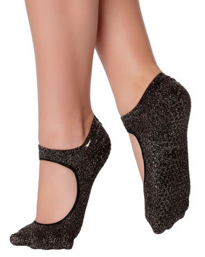Shashi Sweet -Metallic Black Silver