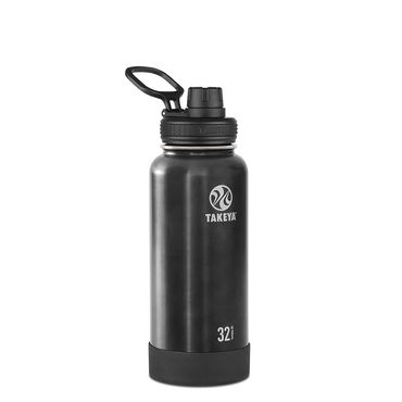 Takeya Actives 32oz Insulated Water Bottle (Slate)