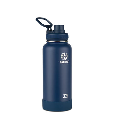 Takeya Actives 32oz Insulated Water Bottle (Midnight)