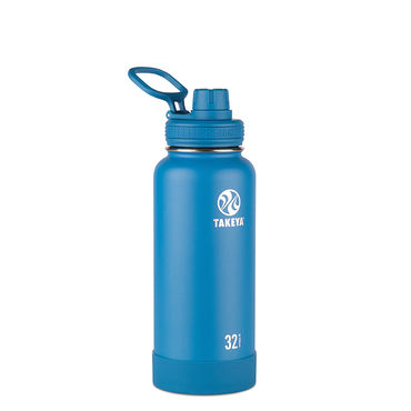 Takeya Actives 32oz Insulated Water Bottle (Sapphire)