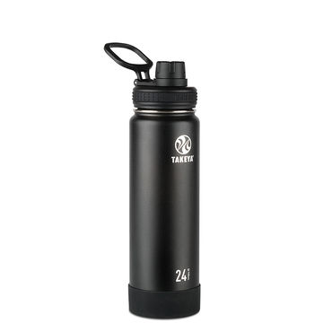 Takeya Actives 24oz Insulated Water Bottle (Onyx)
