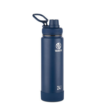 Takeya Actives 24 oz Insulated Water Bottle (Midnight)