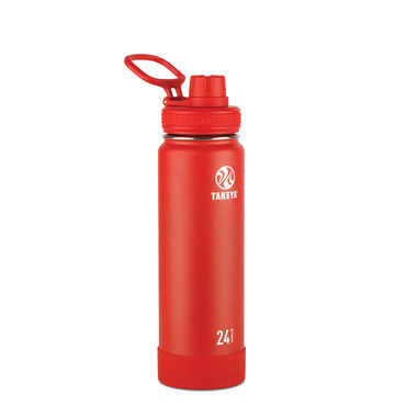 Takeya Actives 24 oz Insulated Water Bottle (Fire)