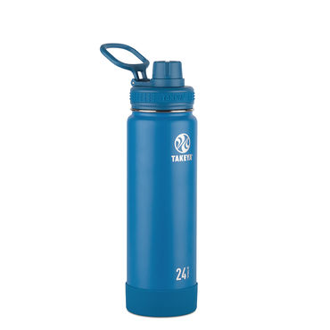 Takeya Actives 24oz Insulated Water Bottle (Sapphire)