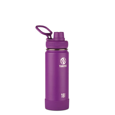 Takeya Insulated Water Bottle 18 oz (530ml) Violet