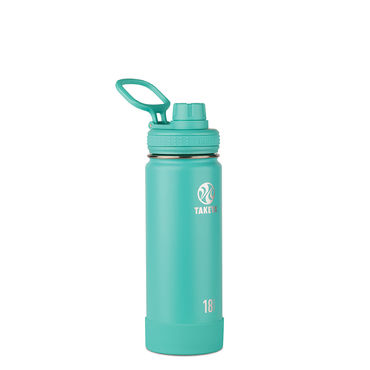 Takeya Actives 18 oz Insulated Water Bottle (Teal)