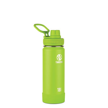Takeya Actives 18 oz Insulated Water Bottle (Lime)