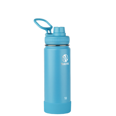 Takeya Insulated Stainless Steel Water Bottle (Surf)
