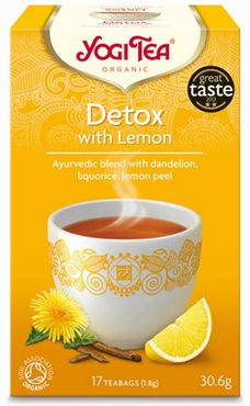 YogiTea Detox with Lemon -luomutee