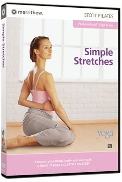 Stott Pilates Simple Stretches -DVD