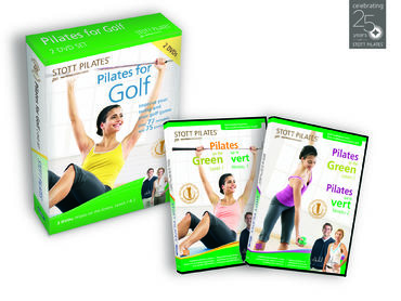 Pilates for Golf -DVD (Two-Pack)