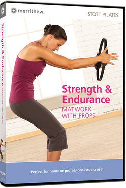 Strenght & Endurance, Matwork with Props -pilates training dvd