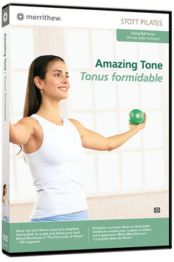 Stott Pilates: Amazing Tone: Toning Ball -DVD
