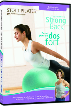 Stott Pilates: The Secret to a Strong Back -DVD