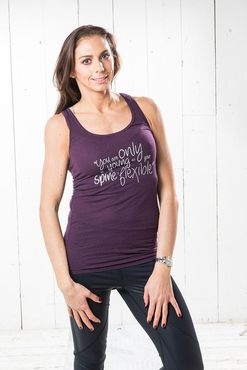 Pure Pilates Spine Happiness Bamboo Vest