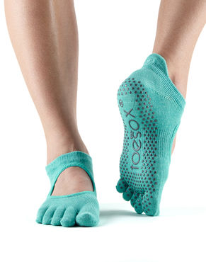 Toesox Bellarina Full Toe (Aqua)
