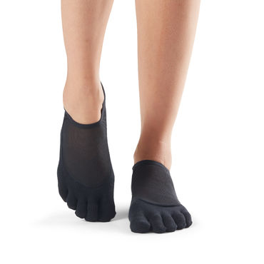 Toesox Luna Full Toe Grip (Black)