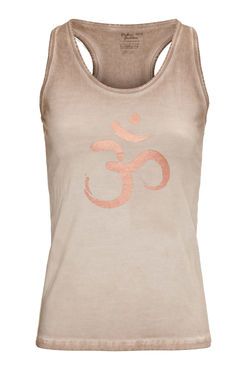Om Yoga Tank (Off Earth) -joogatoppi