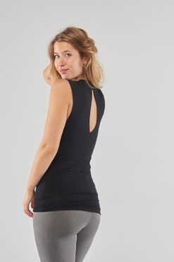 Urban Goddess Bahv Yoga Top (Urban Black) -joogatoppi