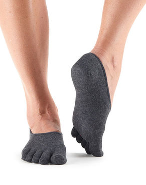 ToeSox Casual Dash -Carbon
