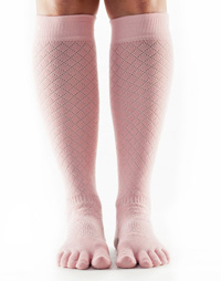 Toesox Casual Knee High (Fishnet Kiss)