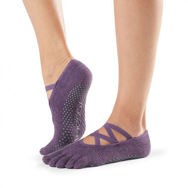 Toesox Elle Full Toe -varvassukka (Blackberry)