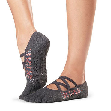 Toesox Grip Elle Full Toe (Sundown) -varvassukka