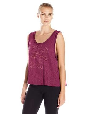 Poisto! Gaiam Willow Crop Top (Wine)