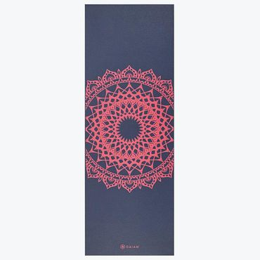 Gaiam Yoga Mat Pink Marrakesh 4mm