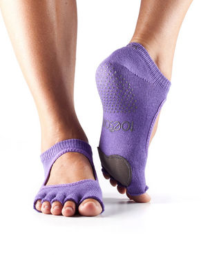 ToeSox Plie Half toe -varvassukka (Light Purple)