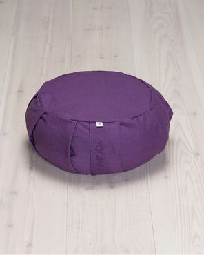 Yogiraj Meditation Cushion Round- meditaatiotyyny (Lilac Purple)