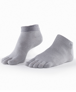 ToeSox Sport LightWeight Ankle -Grey