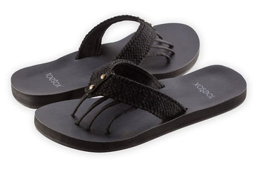 Toesox Sandals Vida (Black)