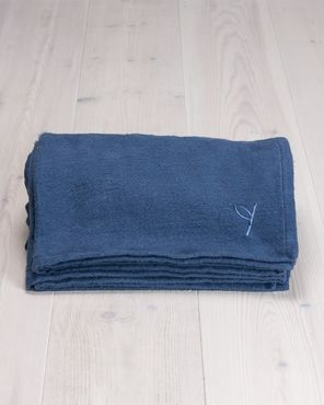 Yogiraj Yoga Blanket (Blueberry Blue) -joogapeitto